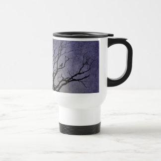 Gespenstische Baum-Halloween-Drucke Reisebecher