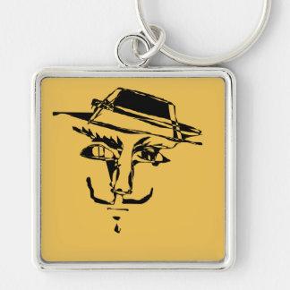 Gespenstische dunkle Masken-Schlüsselkette Schlüsselanhänger