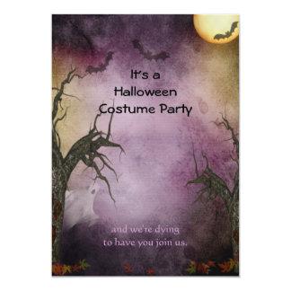 Gespenstische Halloween-Party-Einladung 12,7 X 17,8 Cm Einladungskarte