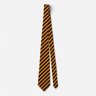 Gespenstische Halloween-Streifen Krawatte