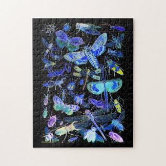Gespenstische Insekten-Puzzle   gruseliges Puzzle