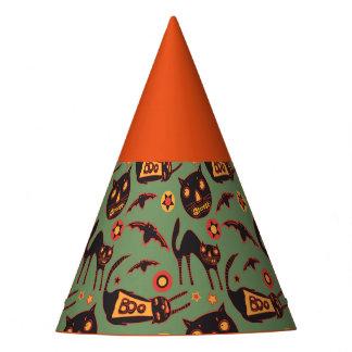 Gespenstische Katzen-Halloween-Party-Hüte Partyhütchen