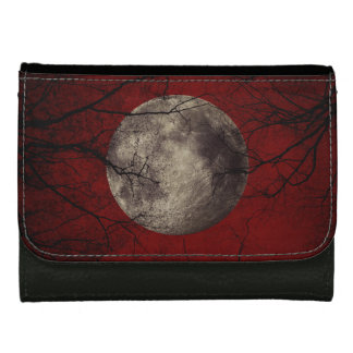 Gespenstische Mond-Halloween-Drucke