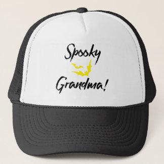 Gespenstische Schläger Halloween für Großmutter Truckerkappe