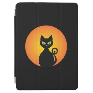 Gespenstische schwarze Katze Halloweens iPad Air Hülle