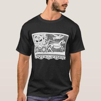 Gespenstische Skelettkunst T-Shirt
