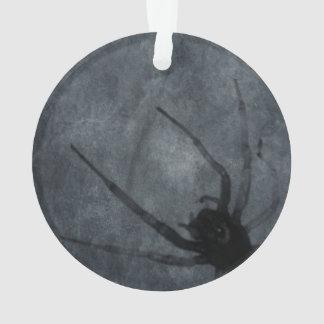 Gespenstische Spinnen-Halloween-Drucke Ornament