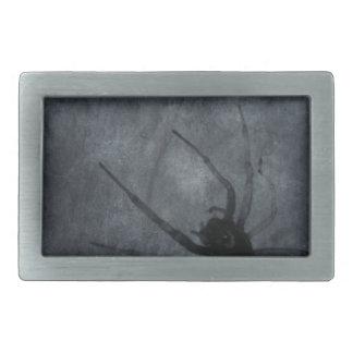 Gespenstische Spinnen-Halloween-Drucke Rechteckige Gürtelschnallen