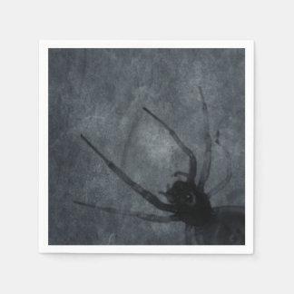 Gespenstische Spinnen-Halloween-Drucke Serviette
