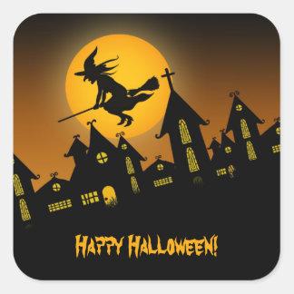 Gespenstischer Aufkleber Halloweens 2