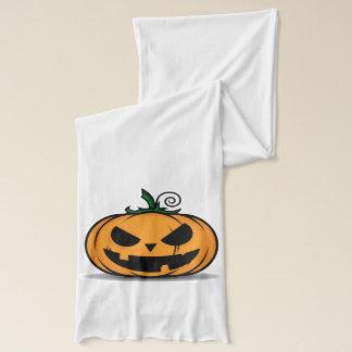 Gespenstischer Halloween-Kürbis Schal