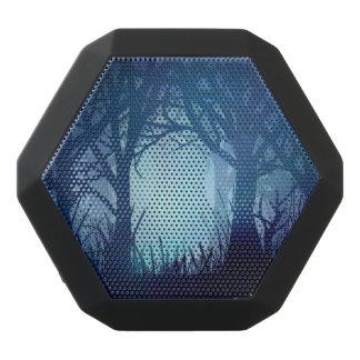Gespenstischer Wald Schwarze Bluetooth Lautsprecher