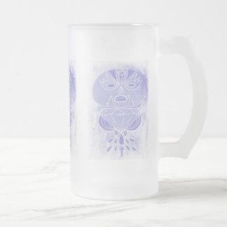 Gespenstisches Gebräu Matte Glastasse