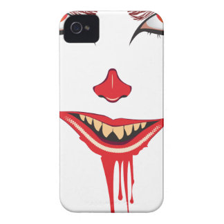 Gespenstisches Halloween-Make-up iPhone 4 Etuis