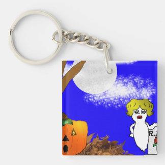 Gespenstisches Halloween Schlüsselanhänger
