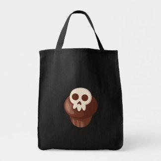 Gespenstisches u. niedliches Skele-Muffin Tragetasche