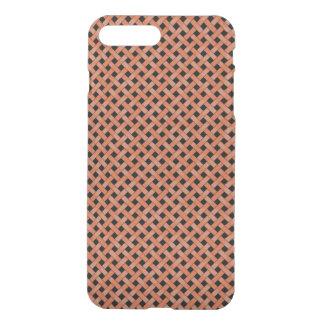 Gesponnene Rattan-Muster-Orange auf iPhone 8 Plus/7 Plus Hülle