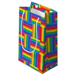 Gesponnener Regenbogen Kleine Geschenktüte