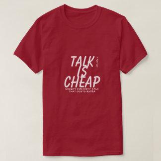 Gespräch ist - ein MisterP Shirt billig