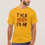 GESPRÄCH NERDY 2 T-Shirt