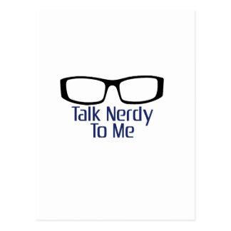 Gespräch Nerdy zu mir