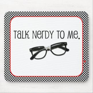 Gespräch Nerdy zu mir Mousepad