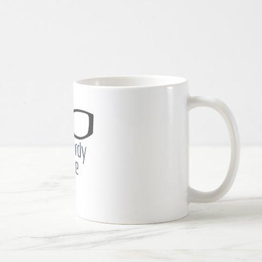 Gespräch Nerdy zu mir Kaffee Tassen