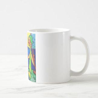 Gespräch zu den Engeln durch Piliero Kaffeetasse