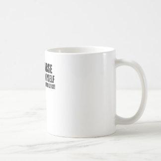 Gespräch zu mich kaffeetasse
