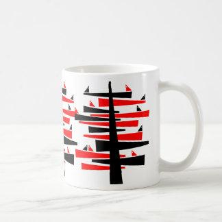 Gesprächs-Baum Kaffeetasse