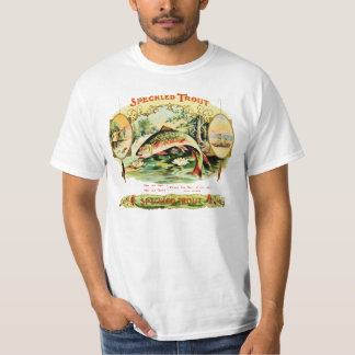 Gesprenkelte Forelle-Vintager T-Shirt