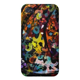 Gesprenkelter digitaler Kunst iphone Fall iPhone 4/4S Hülle