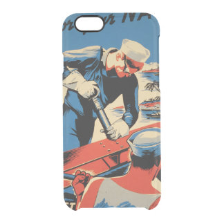 Gestalt für Ihre Marine! Durchsichtige iPhone 6/6S Hülle