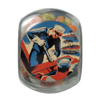 Gestalt für Ihre Marine! Glasdosen