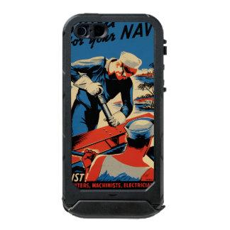 Gestalt für Ihre Marine! Incipio ATLAS ID™ iPhone 5 Hülle