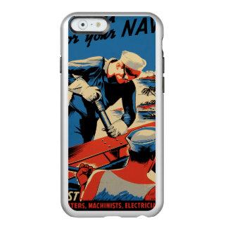 Gestalt für Ihre Marine! Incipio Feather® Shine iPhone 6 Hülle