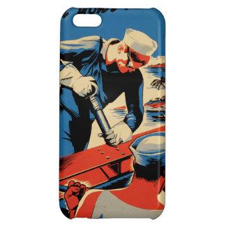 Gestalt für Ihre Marine! iPhone 5C Hülle