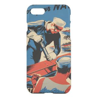 Gestalt für Ihre Marine! iPhone 7 Hülle