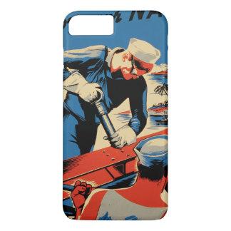 Gestalt für Ihre Marine! iPhone 7 Plus Hülle