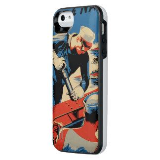 Gestalt für Ihre Marine! iPhone SE/5/5s Batterie Hülle
