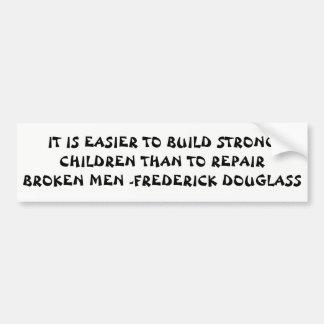 Gestalt-starkes KindDouglass Zitat Autoaufkleber