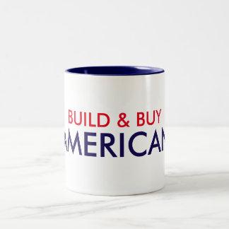 Gestalt-u. Kauf-Amerikaner-Tasse Zweifarbige Tasse