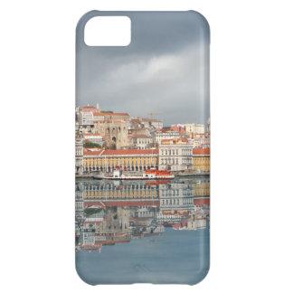 Gestalten Sie Ansicht der Gebäude in Lissabon, Por iPhone 5C Hüllen