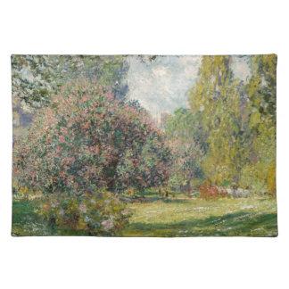 Gestalten Sie das Parc Monceau - Claude Monet Stofftischset