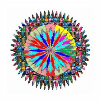 Gestalten Sie DIY Schablonenideal, um BABY-FOTO Freistehende Fotoskulptur