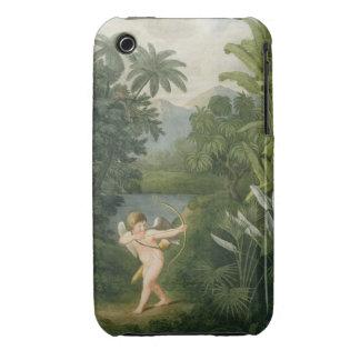 Gestalten Sie mit dem Amor landschaftlich, der Case-Mate iPhone 3 Hülle