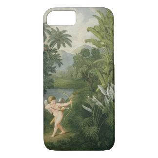 Gestalten Sie mit dem Amor landschaftlich, der iPhone 7 Hülle