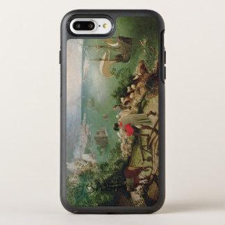 Gestalten Sie mit dem Fall von Ikarus, c.1555 OtterBox Symmetry iPhone 8 Plus/7 Plus Hülle