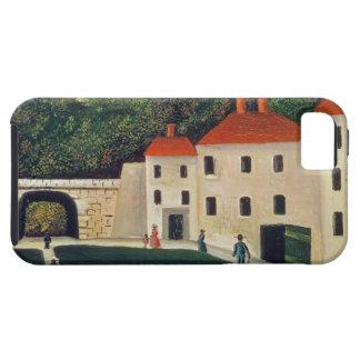 Gestalten Sie mit einem Bogen und drei Houses, 190 Etui Fürs iPhone 5