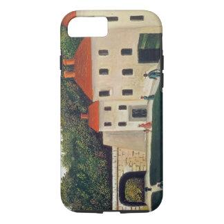 Gestalten Sie mit einem Bogen und drei Houses, iPhone 7 Hülle